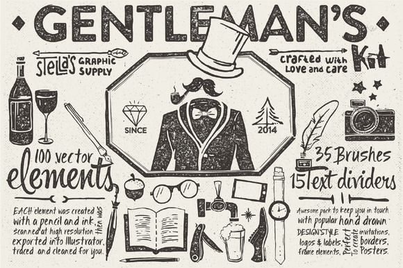Gentleman S Graphic Kit
