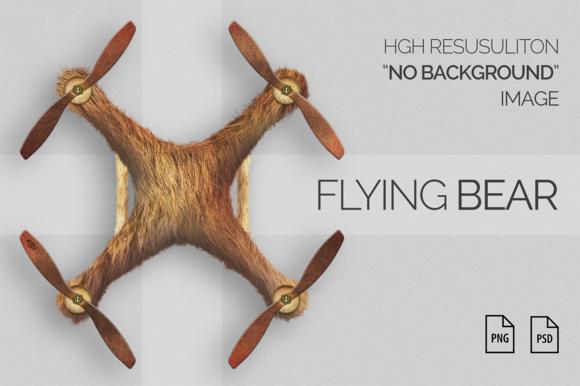 Bear Texture Drone