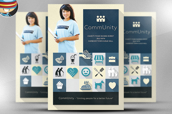 CommUnity Flyer Template