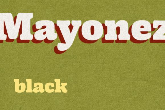 Mayonez Black