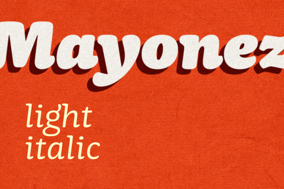 Mayonez Light Italic