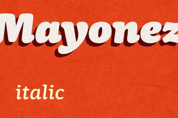 Mayonez Italic
