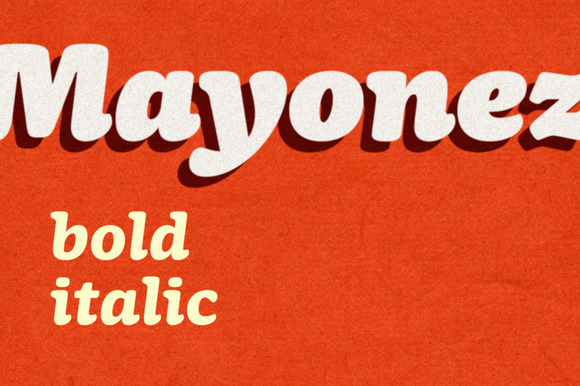 Mayonez Bold Italic