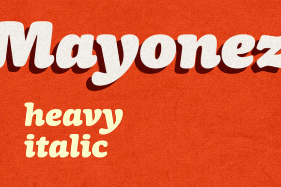 Mayonez Heavy Italic