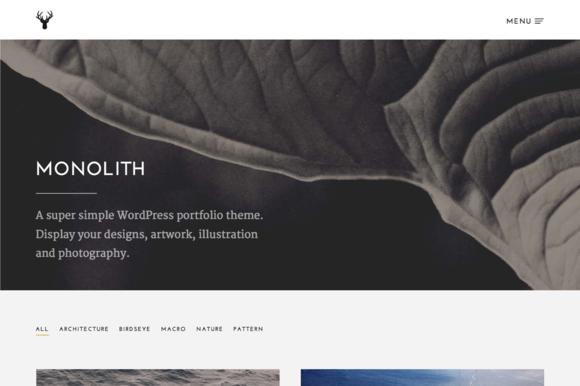 Monolith Responsive WordPress Theme