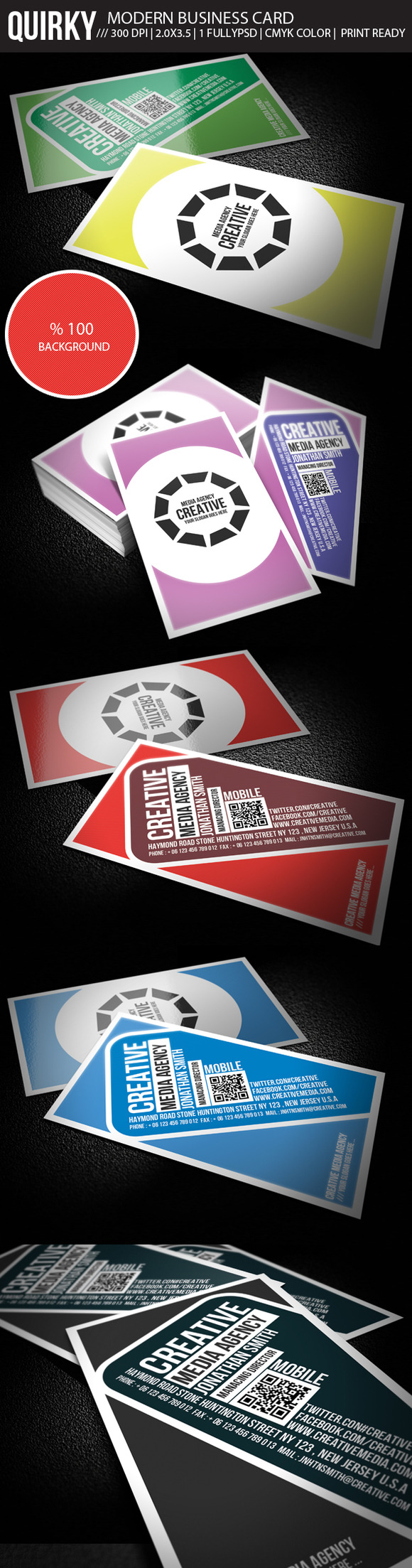 Quirky Creative Business Card