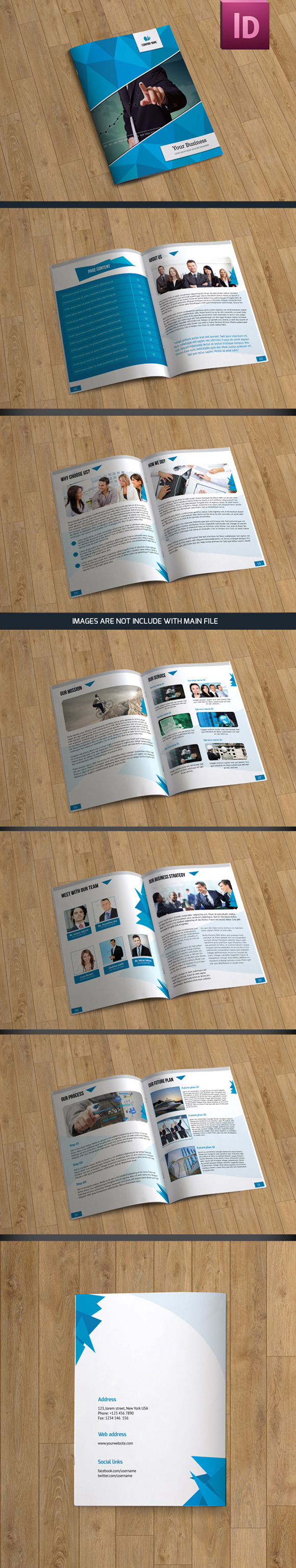 Brochure Template-12 Pages