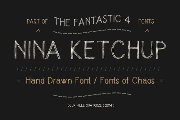 Nina Ketchup Font