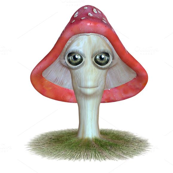 Mushroom Characters