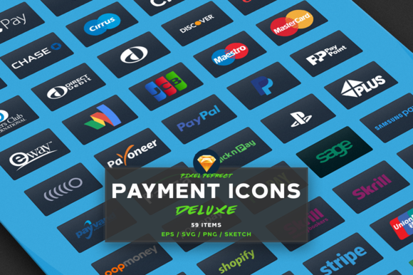 PAYMENT CREDIT CARD VECTOR ICONS D