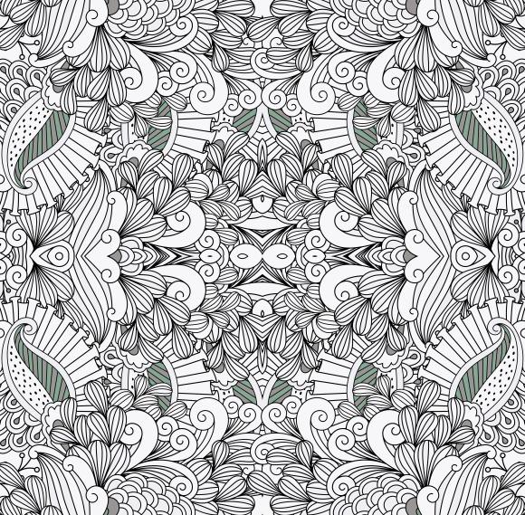 Floral Full Frame Patterns