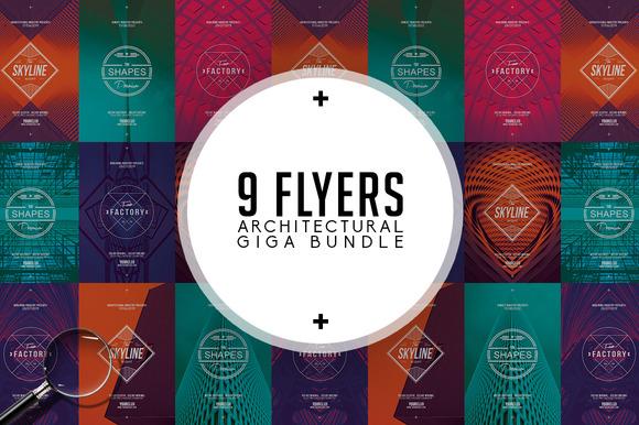 Architectural Bundle 9 Flyers