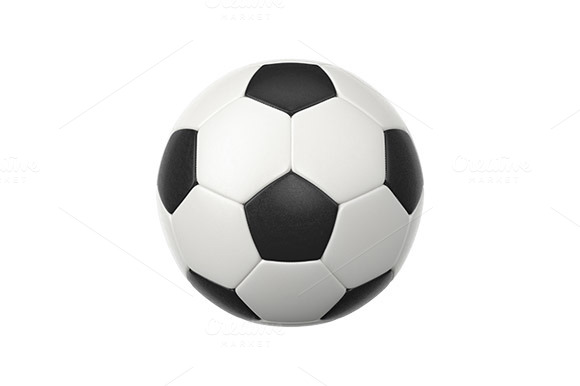 Soccer Ball 3D Object Icon