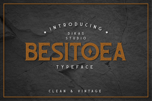 Besitoea Typeface Intro 50%OFF