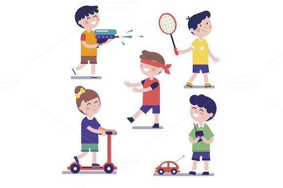 Various Playing Kids Set