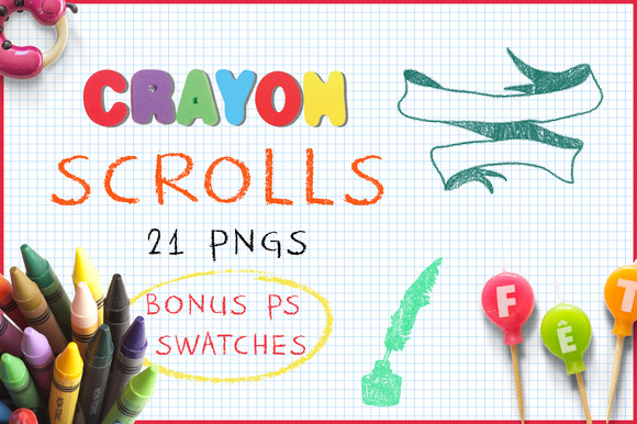 Crayon Scrolls