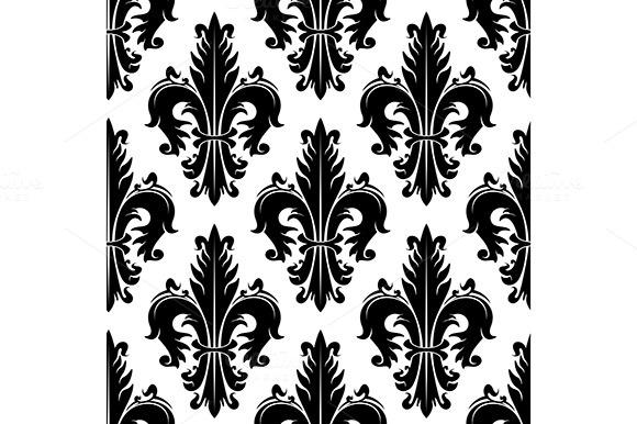 Fleur-de-lis Seamless Background