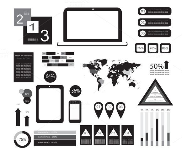Infographic Elements Torrent » Designtube - Creative Design Content
