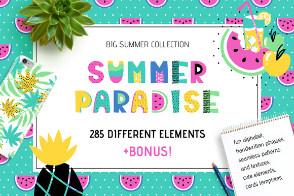 Summer Paradise Big Collection