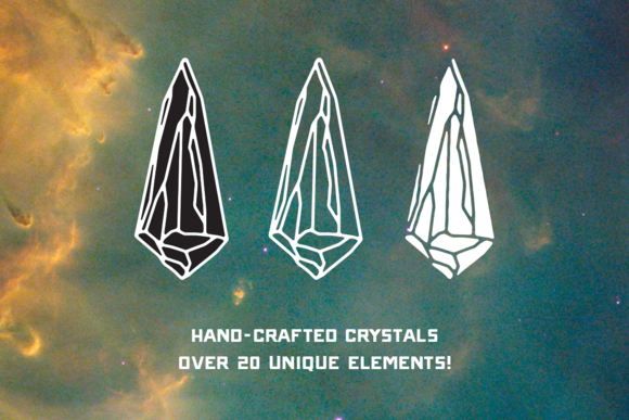 Hand-crafted Vector Crystal Pack