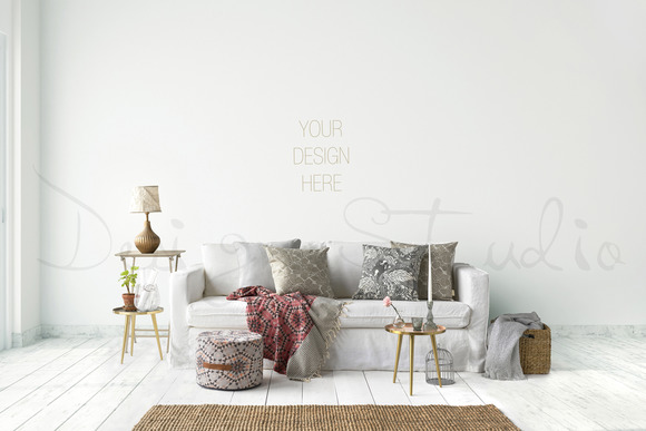 Styled Stock Photography Living Room