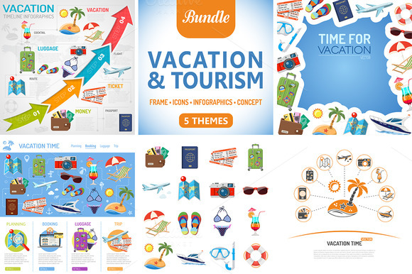 Vacation And Tourism Themes