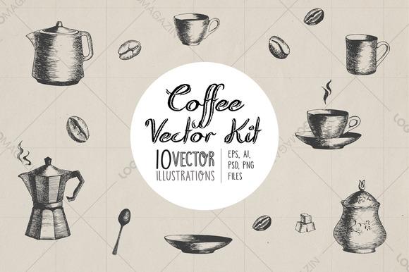 Coffee Vector Kit