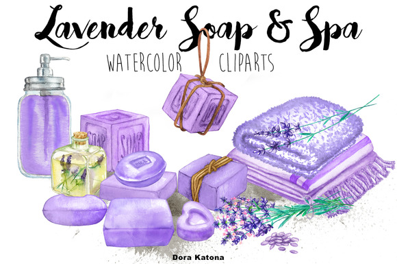 Lavender Soap Spa Set