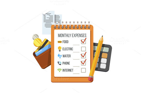 Monthly Expenses Planning Checklist