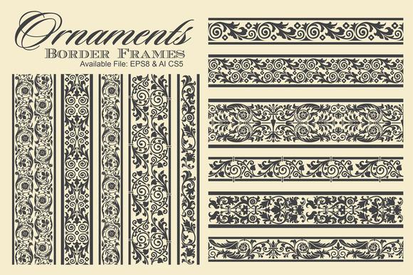Ornaments Border Frames