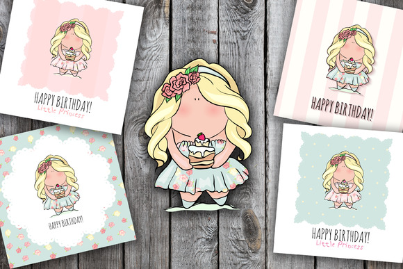 4 Happy Birthday Cards For Girl