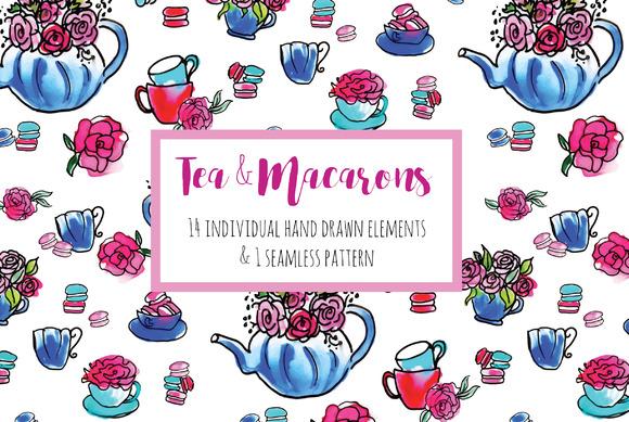 Tea Macarons