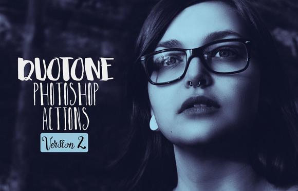 Duotone Pro Photoshop Actions Vol.2