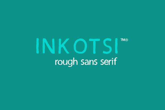Inkotsi Rough Sans Serif