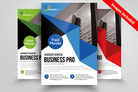 Clean Business Flyer Templates