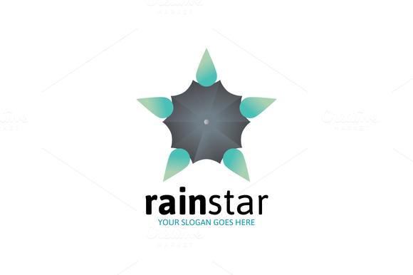 Rain Star Logo