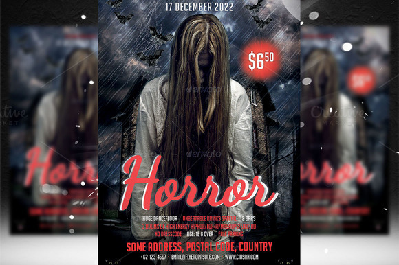 Horror Flyer Template