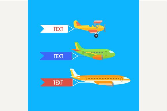 Aeroplane Planes And Biplane
