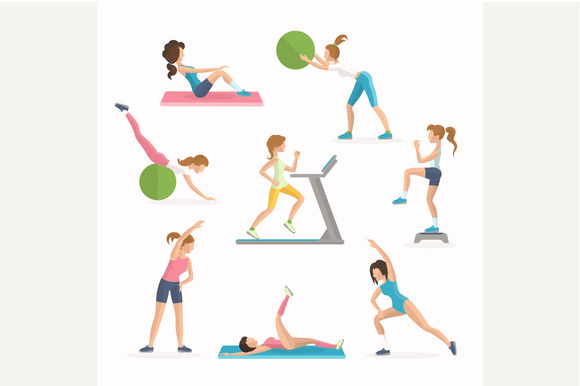 Aerobics Fitness Exercises
