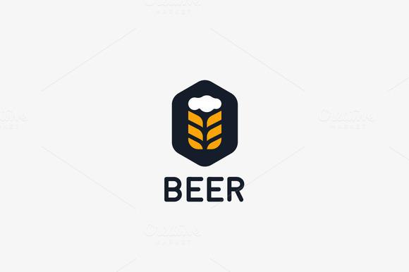 Beer Pub Vector Logo