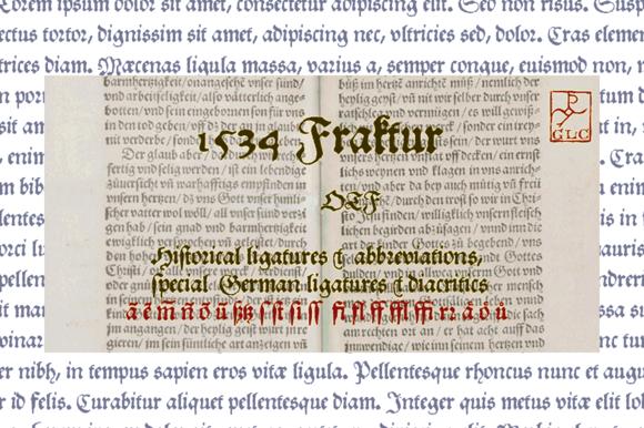 1534 Fraktur OTF