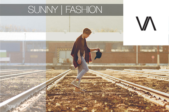 Sunny Fashion Lightroom