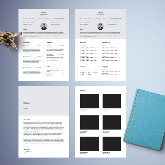 Free Two Column Resume Template » Designtube