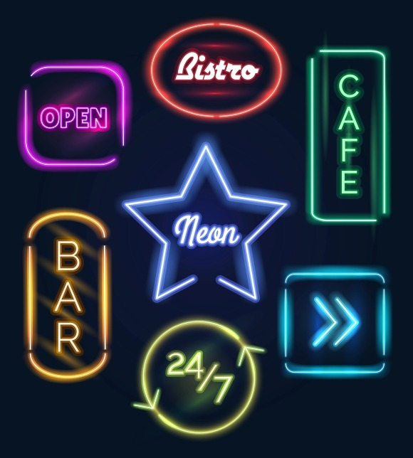 Coffee And Bar Neon Signs