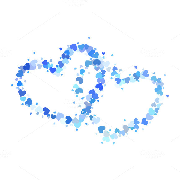 small blue heart pictures to pin on pinterest pinsdaddy heart outline illustrator vector heart outline vector image