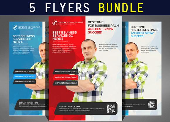 5 Multi-purpose Business Flyers