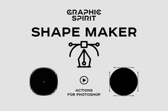 Path Shape Maker For Photoshop
