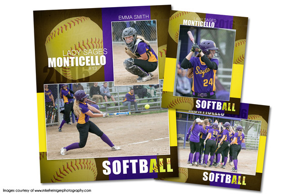 Travel softball team brochure template designtube for Softball brochure templates