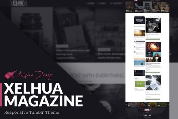 Xelhua Magazine Tumblr Theme