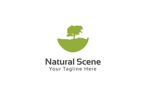 Natural Scene Logo Template